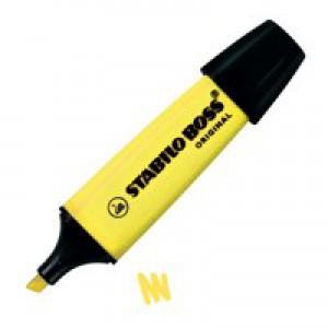 Stabilo Boss Highlighter Pen Yellow 70/24/10