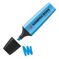 Stabilo Boss Highlighter Pen Blue 70/31/10