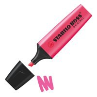 Stabilo Boss Highlighter Pen Pink 70/56/10