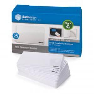 Safescan RF ID Cards RF-100 125-0325 Pack 25