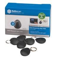 Safescan RF ID Key Fobs RF-110 125-0342 Pack 25