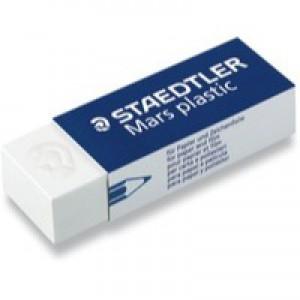 Staedtler Mars Plastic Eraser Pk 2 52650BK2DA