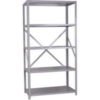 Storage Solutions Heavy Duty Bolted 5-Shelf Unit D600mm Grey ZZHS5GR200A10060