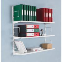 Storage Solutions 3-Tier Wall Mounted Shelf Starter ZZTS4WH100T10027