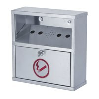 Sterling Ash Bin Wall Mounted Steel SB041S