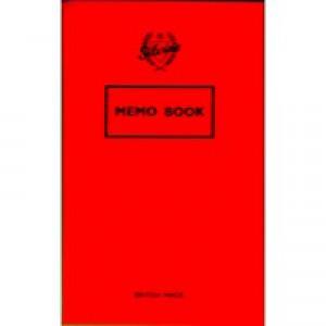 Silvine Memo Book 159x95mm 36 Leaf Ruled Feint Pk24 042F-T