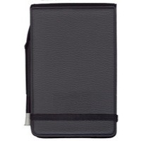 Silvine Elastic Band Notebook with Pen 82x127mm 80 Leaf Ruled Feint 191P