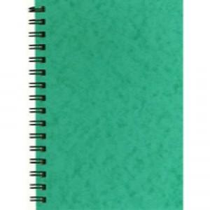 Silvine Wirebound Notebook A6 96 Leaf Ruled Feint SPA6
