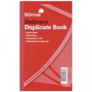 Silvine Duplicate Delivery Book 210x127mm Pk6 613-T