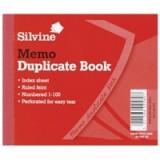 Silvine Duplicate Book 4x5 inches Memo 603