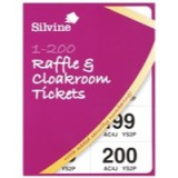 Silvine Cloakroom Ticket 1-200 3252