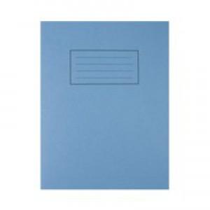 Silvine 9 x 7 Exercise Books Feint and Margin Blue EX104