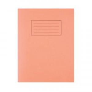 Silvine 9 x 7 Exercise Books Feint and Margin Orange EX105