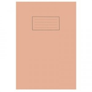 Silvine A4 Exercise Book 80 Pages 5mm Square Orange EX113