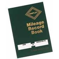 Image for Simplex Mileage Record Book MRB