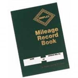 Simplex Mileage Record Book MRB