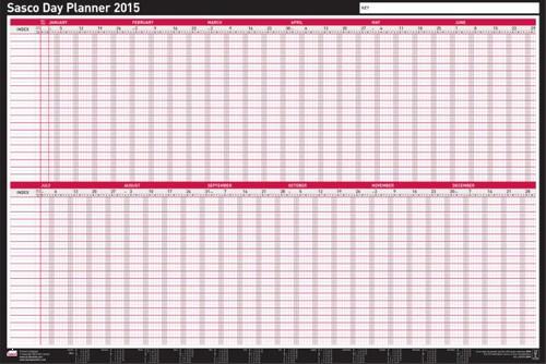 Sasco Day Planner 2015 2401694