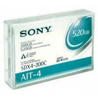 Sony AIT-4 Data Cartridge with Remote MIC Chip 200/520Gb SDX4-200CN