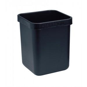 Rexel Agenda Classic Waste Bin Rectangular W311xD311xH390mm 28 Litres Charcoal Ref 25671