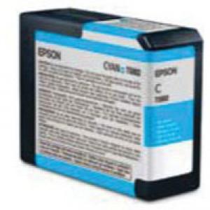 Epson T580200 80ml Cyan Ink