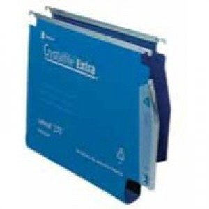 Twinlock Crystalfile Extra Lateral File Polyprop 30mm Blue Box 25 Code 70642