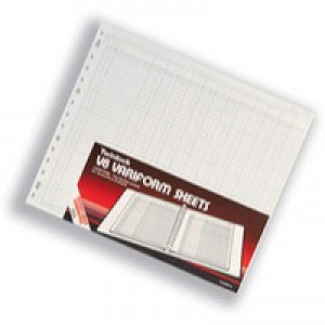Twinlock V8 Variform 10 Column Cash Sheets Ref 75982 [Pack 75]