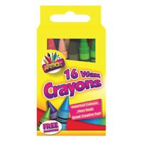 Tallon Wax Crayons Pack of 16 5080