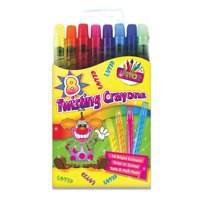Tallon Twist Action Crayons Pk 8 5403