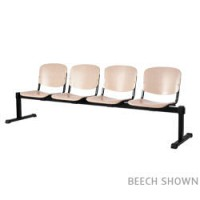 Image for 4 person bench system in Blue fabric