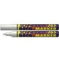Schneider Deco Liquid Chalk Marker Bullet Tip 265 White 1-3mm 126549