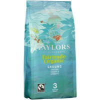 Taylors Fairtrade Organic Ground Coffee 227gm 3689