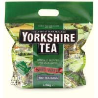 Yorkshire Hard Water Tea Bag Pack of 480 1039