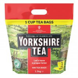 Yorkshire 1-Cup Tea Bag Pk 600 1108
