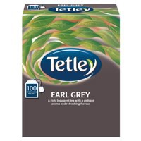 Tetley Earl Grey Tea Bag String/Tag Pack of 100 1243Y