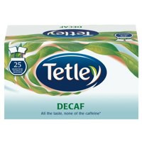Tetley Draw String Tea Bag Decaffeinated Pk 6 x 25 1285B