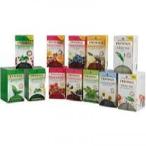 Twinings Herbal Infusion Tea Bag Variety Pk (12 Pks Of 20) F08750