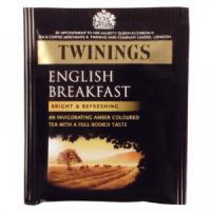 Twinings English Breakfast Envelope Tea Bag Pack of 50 F09583