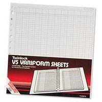 Twinlock Variform V5 10-Column Cash Refill 75964