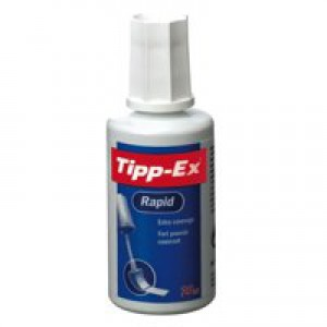 Tipp-Ex Rapid Correction Fluid 20ml White 887159