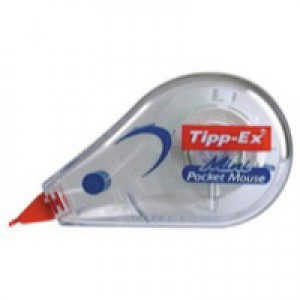 Tipp-Ex Mini Pocket Mouse Correction Tape Roller 5mmx5m Ref 812878 [Pack 10]