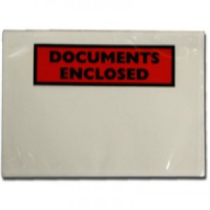 Tenza Documents Enclosed Self-Adhesive Document Envelopes A7 (Pk 100) PLE-DOC-A7-100