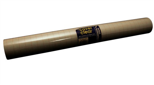 Tenza Book Covering Film Self-Adhesive 1000mm x25 Metres CC-100025-05