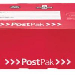 Postpak Airmail Box Pk15