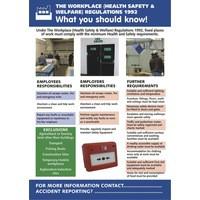 Stewart Superior Self-Adhesive Poster Workplace HSW HS102