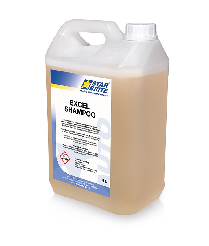 Excel Concentrated Car Shampoo 5L