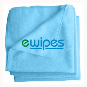 eWipe Microfibre Cloths - Blue Pk 10