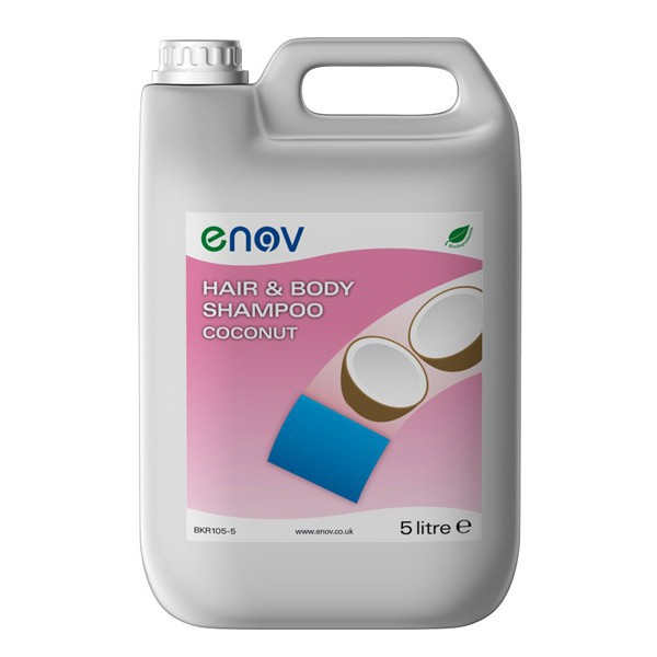 Enov E105 Hair & Body Shampoo Coconut 5L
