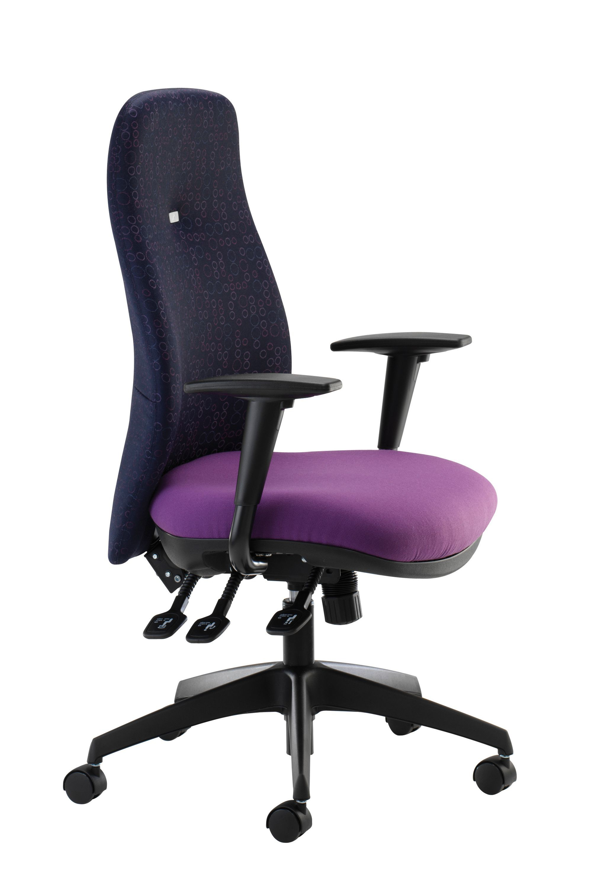Inflexion Task Chair with Adjustable Arms - Phoenix Havana YP009