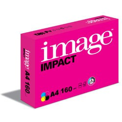 Image Impact FSC A4 160gsm White Card - 250 Sheets