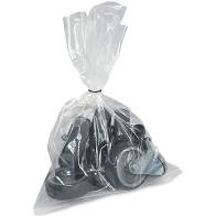 Clear Polythene Bags 100 Gauge Size 203 x 254mm Pack 1000